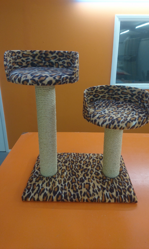Twin Bed Cat Scratching Post