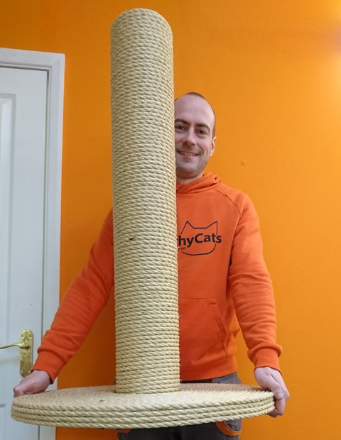 Giant Cat Scratching Post | ScratchyCats
