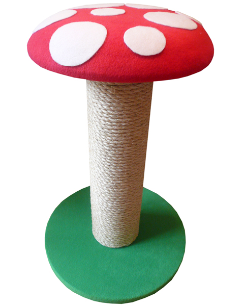 Toadstool Cat Scratching Post