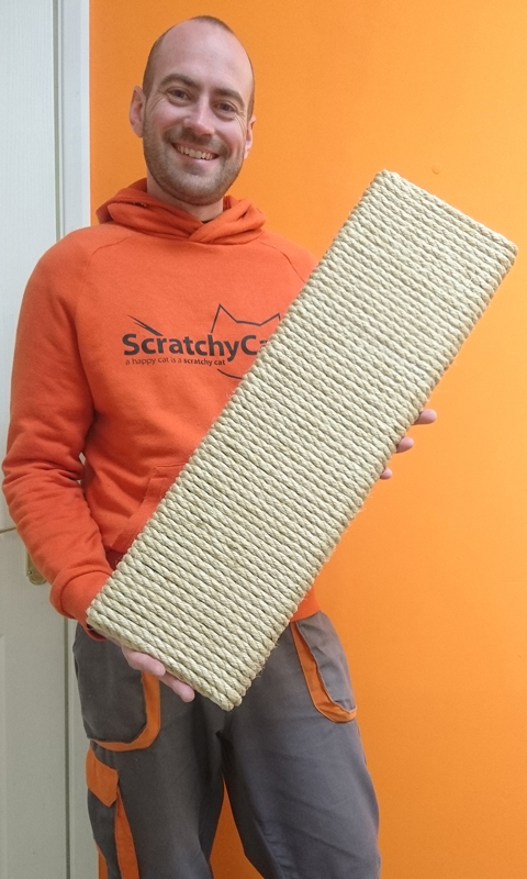 Sisal Cat Scratching Board   ScratchyCats
