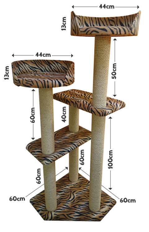 Cat Tree Measurements