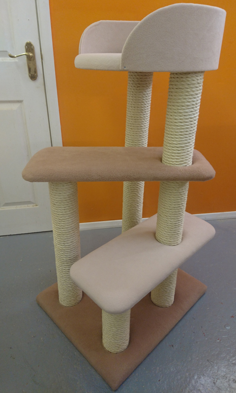 Cat Tree with Large Tub Bed | ScratchyCats