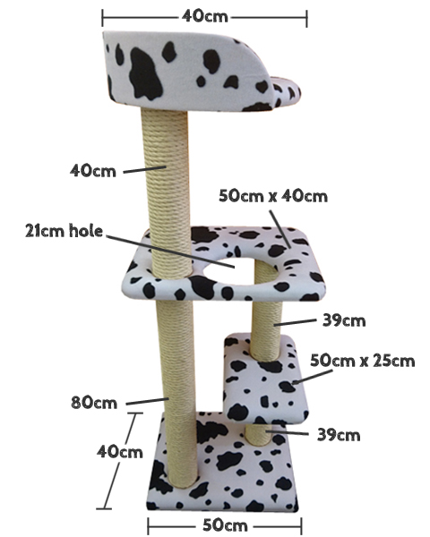 Cat Tree Measurements