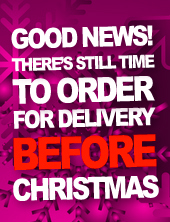 There's Still Time to Order for Delivery Before Christmas