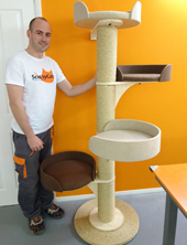 New Modular Cat Tower System with Up To 4 Large Beds