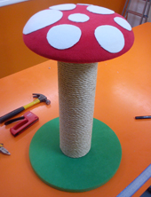 New Product! - the toadstool cat scratching post
