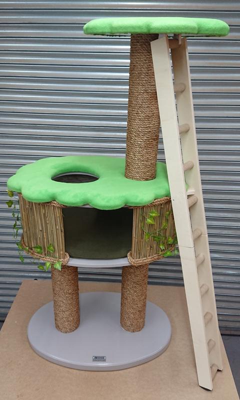 Fully Bespoke Tree House Cat Tree