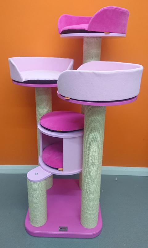 Pink Ultimate Series Cat Tree
