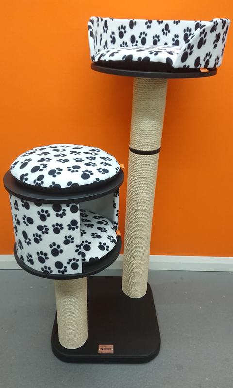Satin Black Ultimate Series Cat Tree
