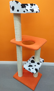 orange cat tree