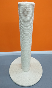 giant sisal rope cat scratching post
