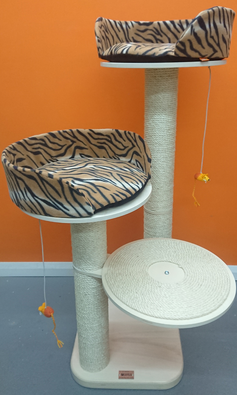 Ultimate Series Cat Tree with Roped Platform | ScratchyCats