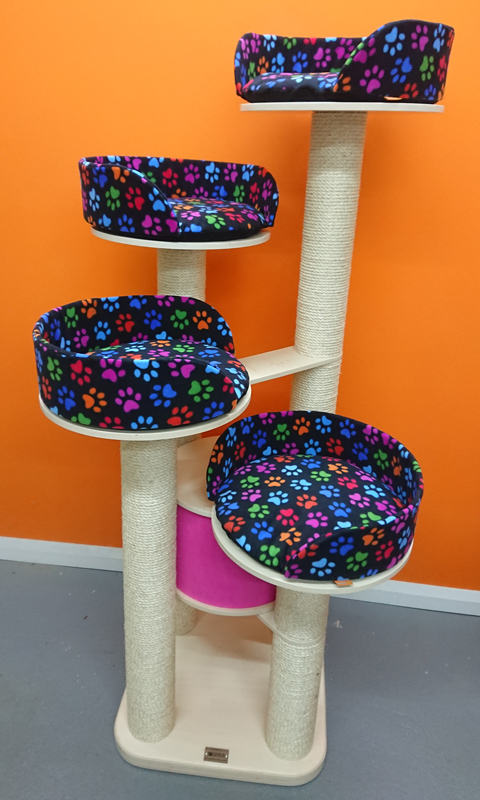Ultimate Series Cat Tree with 4 Beds | ScratchyCats