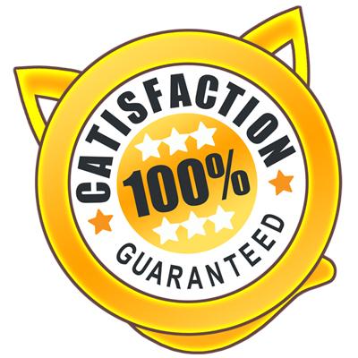Catisfaction Guarantee | ScratchyCats