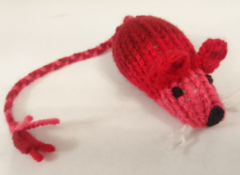 Hand-knitted CatNip Mice Cat Toy | ScratchyCats