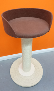 Brown Cat Scratching Post | ScratchyCats
