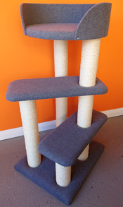 Charcoal Cat Scratching Post | ScratchyCats
