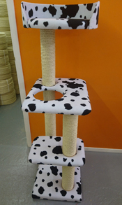 Cow Print Cat Scratching Post | ScratchyCats