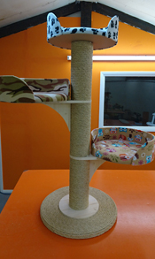 Desert Camo Cat Scratching Post | ScratchyCats