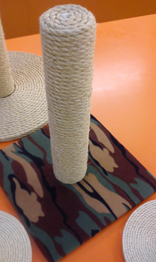Jungle Camo Cat Scratching Post | ScratchyCats