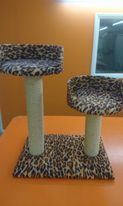 Leopard Cat Scratching Post | ScratchyCats