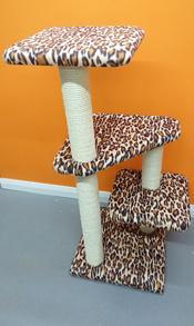 Leopard Cat Scratching Post | ScratchyCats