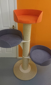 Orange Cat Scratching Post | ScratchyCats