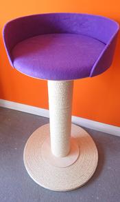 Purple Cat Scratching Post | ScratchyCats