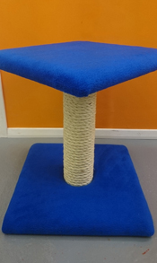 Royal Blue Cat Scratching Post | ScratchyCats