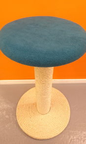 Teal Cat Scratching Post | ScratchyCats