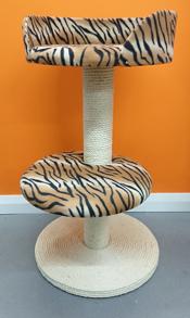 Tiger Cat Scratching Post | ScratchyCats