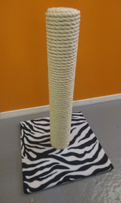 Zebra Cat Scratching Post | ScratchyCats