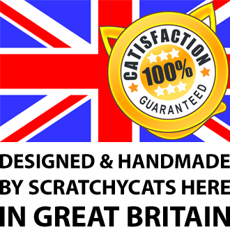 Quality Cat Scratching Posts Made in UK
