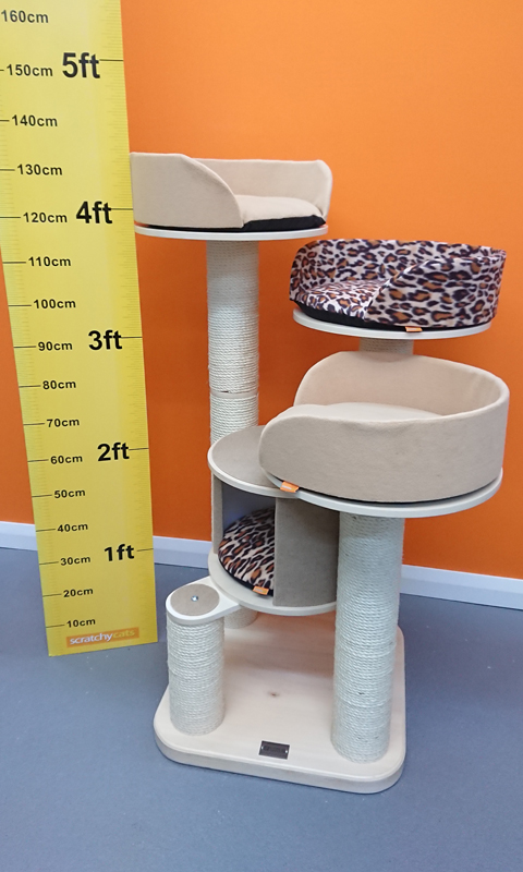 The Ultimate Modular Cat Tree SC-U26