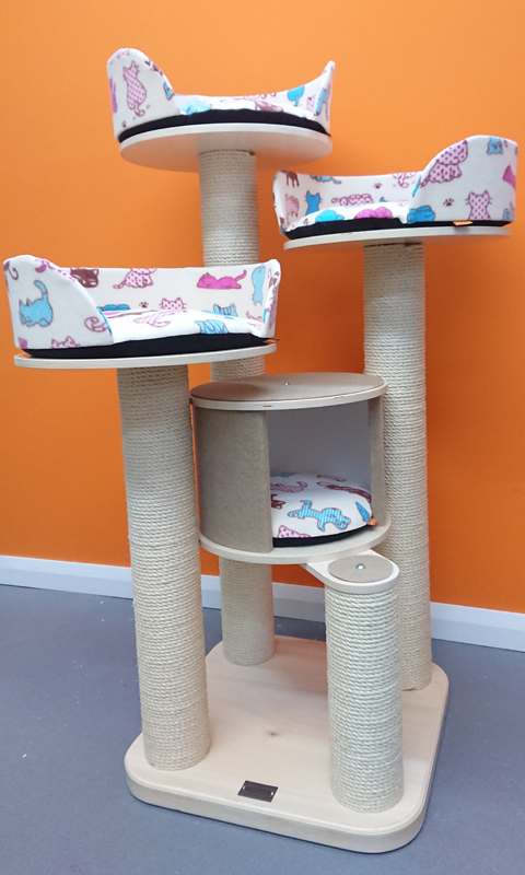 Large High Quality Cat Tree   ScratchyCats