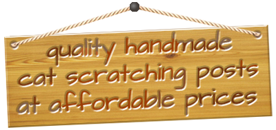 Quality Handmade Cat Scratching Posts at Affordable Prices